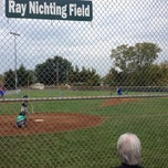 Photo taken at West Side Little League by Chris W. on 10/5/2013