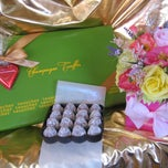 Photo taken at Teuscher Chocolates & Cafe by Teuscher Chocolates & Cafe on 2/15/2014