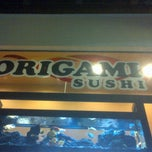 Photo taken at Origami Sushi by Adriana B. on 1/15/2013