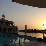 Photo taken at Pool @ Dubai Gate 1 by Recep B. on 8/13/2014