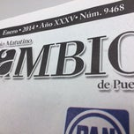 Photo taken at Diario Cambio by Zyanya C. on 1/20/2014