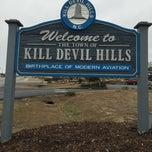 Photo taken at Kill Devil Hills, NC by Char F. on 1/13/2015