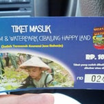 Photo taken at Cibalung Happy Land by Hari C. on 7/28/2014