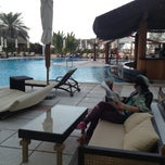 Photo taken at Hilton Dubai Jumeirah Resort by Katrin S. on 1/13/2013