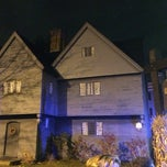 Photo taken at Witch House by Kenneth L. on 10/31/2013