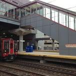 Photo taken at Stamford Transportation Center Bus/Train (STM) Metro North & Amtrak by Christine W. on 4/15/2013