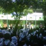 Photo taken at SMP Negeri 11 Bandung by diki h. on 3/8/2014
