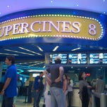 Photo taken at Super Cines 8 by Daniel V. on 1/28/2013