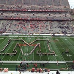 Photo taken at Capital One Field at Byrd Stadium by Heather d. on 11/3/2012