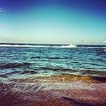 Photo taken at Praia do Pirui by Dan Danival D. on 2/13/2013