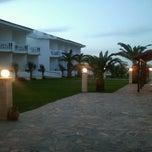 Photo taken at Chryssana Beach Hotel by Xavier F. on 6/6/2013