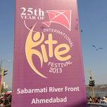 Photo taken at Sabarmati River Front by Moksh J. on 1/13/2013