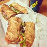 Photo taken at Subway by Peter C. on 12/14/2013