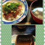 Photo taken at 漁師めし みなと食堂 by toshitoshiko on 5/11/2013
