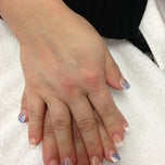 Photo taken at Super Nails by Tammy G. on 2/11/2013