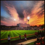 Photo taken at Scottsdale Stadium by Heather W. on 3/22/2013