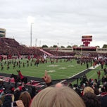 Photo taken at Jones AT&T Stadium by ricky s. on 10/6/2012