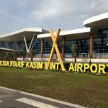 Photo taken at Sultan Syarif Kasim II International Airport (PKU) by Michael L. on 11/8/2012