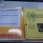 Photo taken at National Institute of Occupational Safety and Hazard (NIOSH) by Syazani S. on 11/28/2012