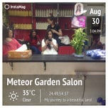 Photo taken at Meteor Garden Salon by Marie J. on 8/31/2013