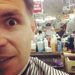 Photo taken at Shields & West Barber Shop by Sy O. on 10/6/2014