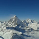 Photo taken at Matterhorn Glacier Paradise by Petra B. on 2/15/2013