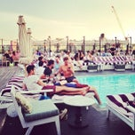 Photo taken at Soho House Rooftop by Matt D. on 6/25/2013