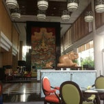 Photo taken at Century Park Hotel by Meredith P. on 2/23/2013