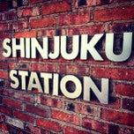 Photo taken at Shinjuku Station by Beer P. on 5/3/2013
