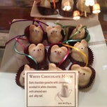 Photo taken at L.A. Burdick Chocolate by abby on 4/17/2013