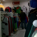 Photo taken at InteeShirt, Yogyakarta by Triana W. on 1/30/2013