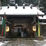 Photo taken at 仁科神明宮 by 正木 み. on 1/1/2015