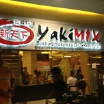 Photo taken at YakiMix Sushi & Smokeless Grill by Tessa A. on 4/4/2013