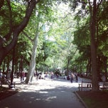 Photo taken at Rittenhouse Square by Andrew C. on 5/25/2013