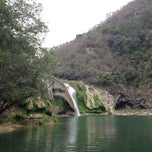 Photo taken at Cascada Micos by Ernesto P. on 2/21/2013