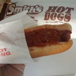 Photo taken at Eddie's Footlong Hotdogs by Todd S. on 3/12/2015
