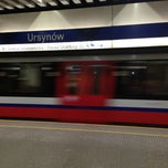 Photo taken at Metro Ursynów by Łukasz O. on 2/13/2013