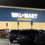 Photo taken at Walmart Supercenter by Joshua on 12/22/2012