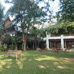 Photo taken at Baan Tye Wang, Ayuttaya by Pierre A. on 12/24/2013