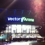 Photo taken at Vector Arena by Sarah on 5/8/2013