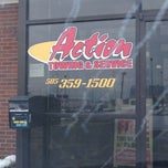 Photo taken at Action Automotive & Towing Service by Harry L. on 3/6/2013