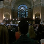 Photo taken at Saint Paul's Chapel by Madeline A. on 5/18/2014