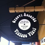 Photo taken at Groovy Records by Janet R. on 3/23/2013