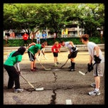 Photo taken at Crystal Rolls Street Hockey by DC Social Sports C. on 6/28/2013