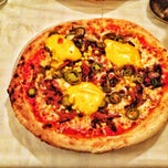 Photo taken at Pizzeria Azur by Mladen B. on 5/2/2013