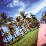 Photo taken at Lummus Park by Nikita S. on 6/26/2013