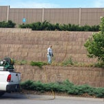 Photo taken at Kdot wall (Switzer) by Audrey on 7/15/2013