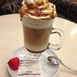 Photo taken at Coffeemania by SALİH A. on 4/13/2013