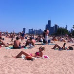 Photo taken at Fullerton Beach by Nicole Marie on 7/13/2013