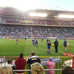 Photo taken at Newlands Rugby Stadium by Lloyd J. on 3/24/2013